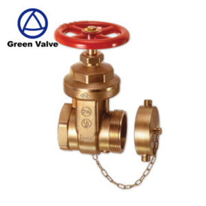 BRONZE FIRE HOST VALVE BRASS GATE VALVE 2-1/2  A53