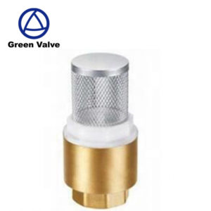 Green Valve brass air compressor check valve  single one way valve brass check valve