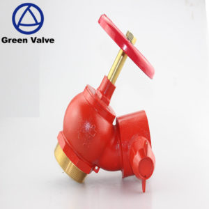 Taizhou Green Valves High quality BSP NPT brass fire valve with forged