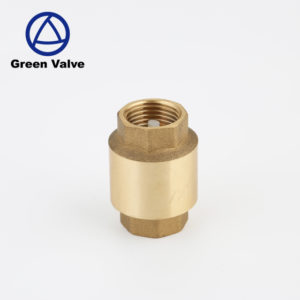 Green Valve Competitive Price screw down check brass angle valve for bathroom